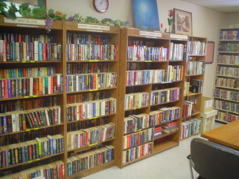 Library (books and videos) & Puzzle Room
